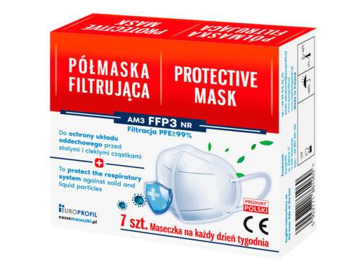 Certyfikowane półmaski FFP3 już wkrótce w sprzedaży