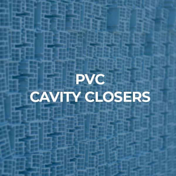 pvc cavity closers